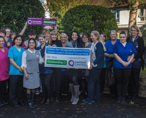 Staff Receive CQC Outstanding